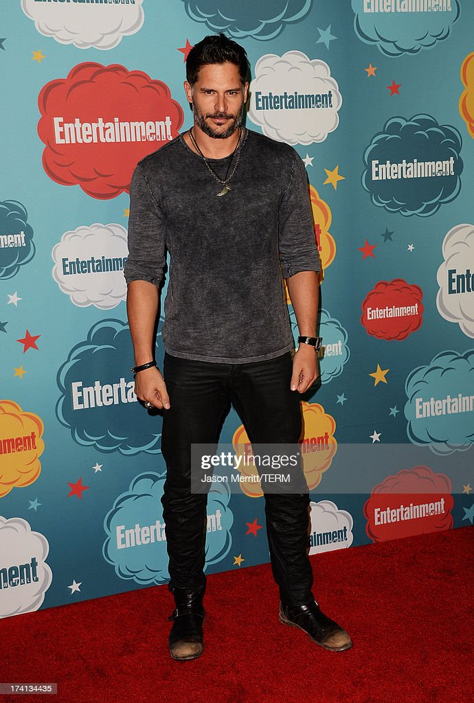 Actor <a gi-track='captionPersonalityLinkClicked' href=/galleries/search?phrase=Joe+Manganiello&family=editorial&specificpeople=2516889 ng-click='$event.stopPropagation()'>Joe Manganiello</a> attends Entertainment Weekly's Annual Comic-Con Celebration at Float at Hard Rock Hotel San Diego on July 20, 2013 in San Diego, California.