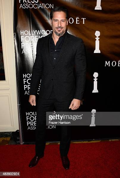 Actor Joe Manganiello attends HFPA Annual Grants Banquet at the Beverly Wilshire Four Seasons Hotel on August 13 2015 in Beverly Hills California