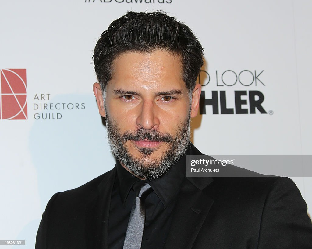 Actor <a gi-track='captionPersonalityLinkClicked' href=/galleries/search?phrase=Joe+Manganiello&family=editorial&specificpeople=2516889 ng-click='$event.stopPropagation()'>Joe Manganiello</a> attends the 18th Annual Art Directors Guild Excellence In Production Design Awards at The Beverly Hilton Hotel on February 8, 2014 in Beverly Hills, California.