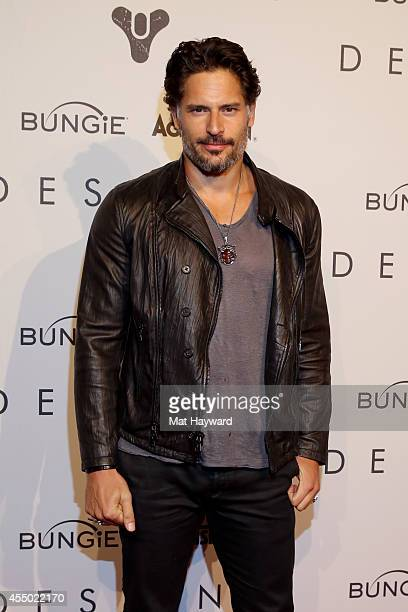 Actor Joe Manganiello attends the Destiny launch in Seattle Washington on September 8 2014