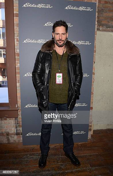 Actor Joe Manganiello attends The Eddie Bauer Adventure House Day 1 2014 Park City on January 17 2014 in Park City Utah