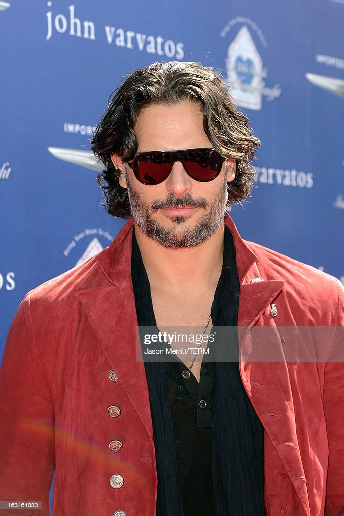 Actor <a gi-track='captionPersonalityLinkClicked' href=/galleries/search?phrase=Joe+Manganiello&family=editorial&specificpeople=2516889 ng-click='$event.stopPropagation()'>Joe Manganiello</a> attends the John Varvatos 10th Annual Stuart House Benefit presented by Chrysler, Kids Tent by Hasbro Studios, at John Varvatos Los Angeles on March 10, 2013 in Los Angeles, California.