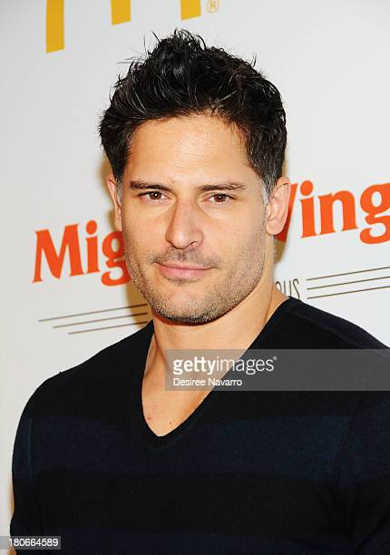 Actor Joe Manganiello attends the McDonald's New Mighty Wings Launch Event at Skylight at Moynihan Station on September 15 2013 in New York City
