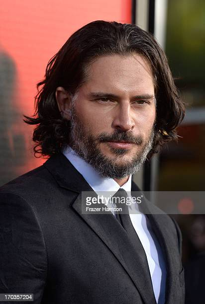 Actor Joe Manganiello attends the premiere of HBO's 'True Blood' Season 6 at ArcLight Cinemas Cinerama Dome on June 11 2013 in Hollywood California