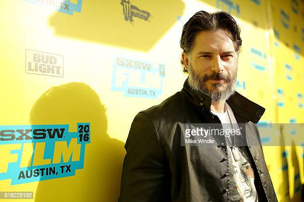 Actor Joe Manganiello attends the premiere of 'Peewee's Big Holiday' during the 2016 SXSW Music Film Interactive Festival at Paramount Theatre on...