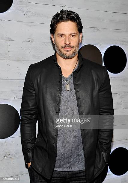 Actor Joe Manganiello attends the VIP sneak peek of the go90 Social Entertainment Platform at the Wallis Annenberg Center for the Performing Arts on...