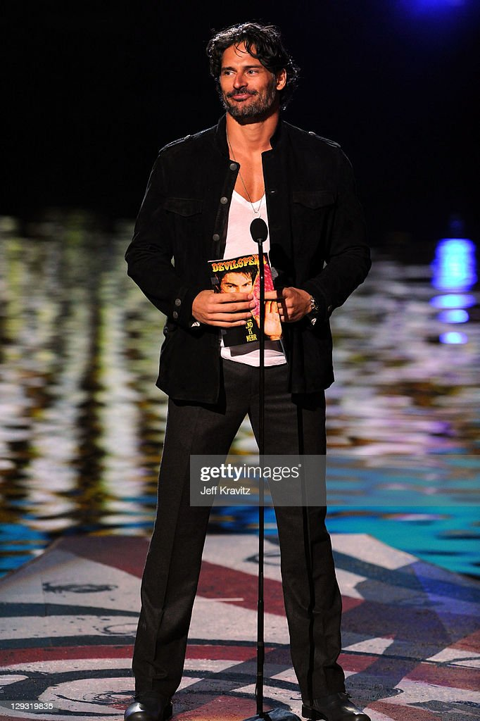 Actor Joe Manganiello onstage during Spike TV's 'Scream 2011' at Universal Studios on October 15 2011 in Universal City California