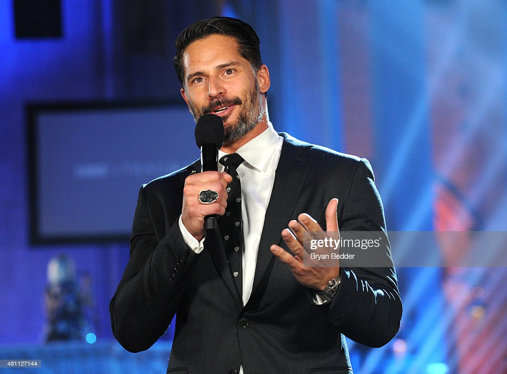 Actor Joe Manganiello speaks during Logo TV's 'Trailblazers' at the Cathedral of St. John the Divine on June 23, 2014 in New York City.