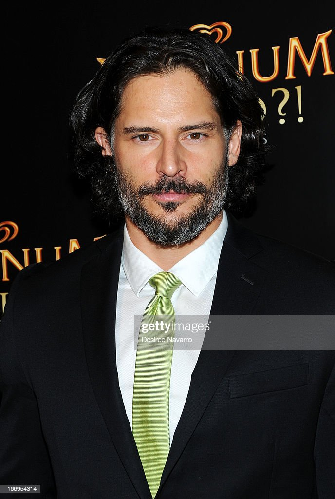 Actor <a gi-track='captionPersonalityLinkClicked' href=/galleries/search?phrase=Joe+Manganiello&family=editorial&specificpeople=2516889 ng-click='$event.stopPropagation()'>Joe Manganiello</a> 'TV's sexiest man' attends the screening of 'As Good As Gold' during the 2013 Tribeca Film Festival at Gotham Hall on April 18, 2013 in New York City.