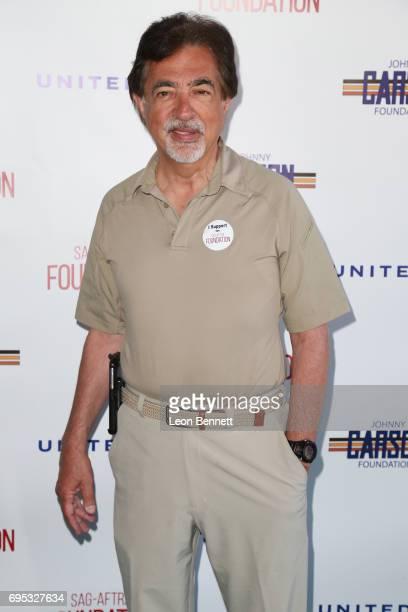 Actor Joe Mantegna arrives at SAGAFTRA Foundation's 8th Annual Los Angeles Golf Classic on June 12 2017 in Burbank California