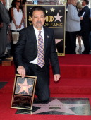 Actor Joe Mantegna during Hollywood Walk of Fame induction ceremony honoring actor Joe Mantegna on April 29 2011 in Hollywood California