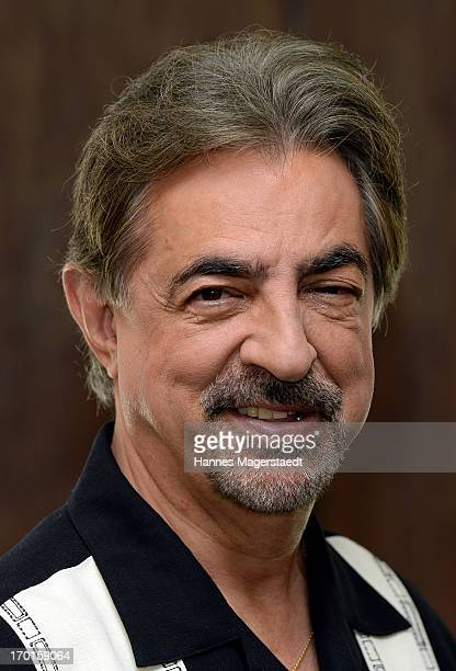 Actor Joe Mantegna poses during the 'Criminal Minds' Photocall at Hotel Bayerischer Hof on June 8 2013 in Munich Germany