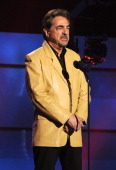 Actor Joe Mantegna speaks onstage during ACM Presents An AllStar Salute To The Troops at the MGM Grand Garden Arena on April 7 2014 in Las Vegas...