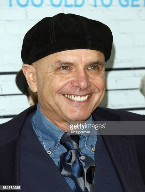 Actor Joe Pantoliano attends the 'Going In Style' New York premiere at SVA Theatre on March 30 2017 in New York City