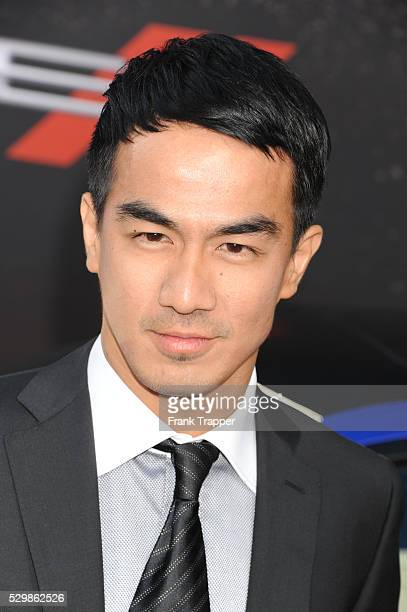 Actor Joe Taslim arrives at the premiere of Fast Furious 6 held at Universal CityWalk and Gibson Amphitheater Universal Studios Hollywood