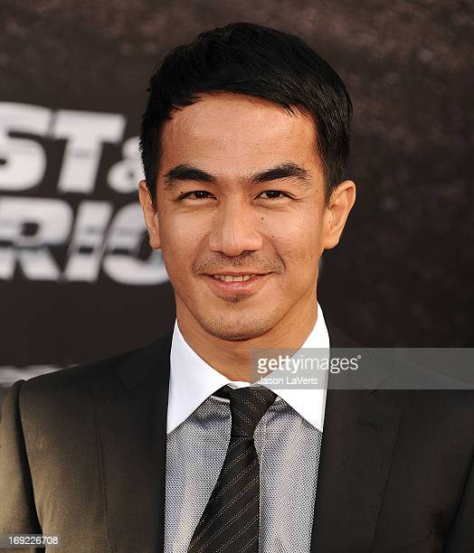 Actor Joe Taslim attends the premiere of 'Fast Furious 6' at Universal CityWalk on May 21 2013 in Universal City California