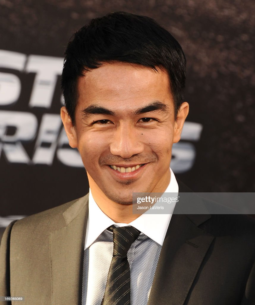 Actor Joe Taslim attends the premiere of 'Fast & Furious 6' at Universal CityWalk on May 21, 2013 in Universal City, California.