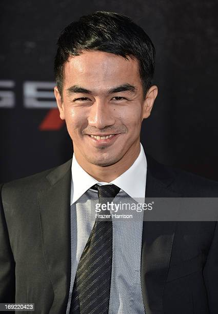 Actor Joe Taslim rrives at the Premiere Of Universal Pictures' 'Fast Furious 6' on May 21 2013 in Universal City California