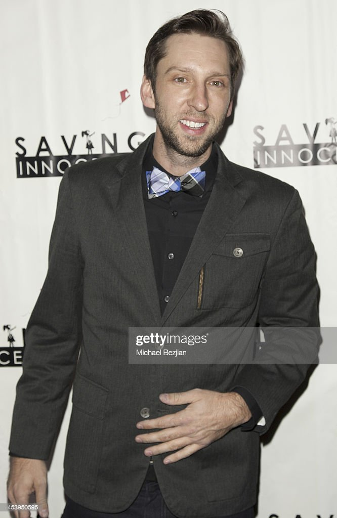 Actor Joel David Moore arrives at the 2nd Annual Saving Innocence Gala Hosted By Kellan Lutz And Keke Palmer - Arrivals at The Crossing on December 5, 2013 in Los Angeles, California.