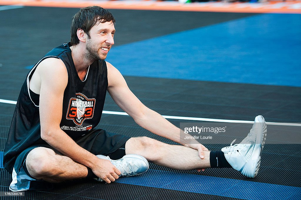 Actor Joel David Moore attends the 5th annual Nike basketball 3ON3 tournament presented by NBC4 southern california held at L.A. LIVE on August 9, 2013 in Los Angeles, California.