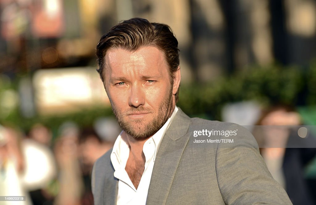 Actor Joel Edgerton arrives at the premiere of Walt Disney Pictures' 'The Odd Life of Timothy Green' at the El Capitan Theatre on August 6, 2012 in Hollywood, California.