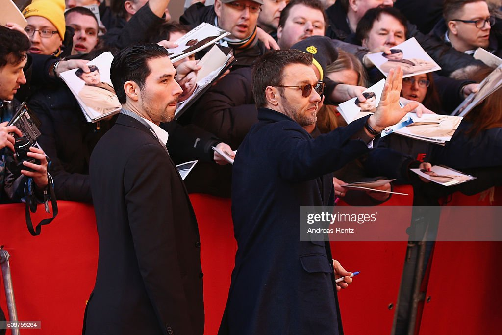 Actor Joel Edgerton arrives for the 'Midnight Special' photo call during the 66th Berlinale International Film Festival Berlin at Grand Hyatt Hotel on February 12, 2016 in Berlin, Germany.