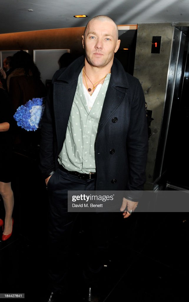 Actor Joel Edgerton attends a post-screening party for 'The Last Impresario' during the 57th BFI London Film Festival at The Arts Club on October 13, 2013 in London, England.