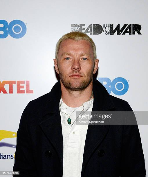 Actor Joel Edgerton attends screening of the FoxTel and HBO's war documentary 'Only The Dead See The End of War' November 16 2015 in West Hollywood...