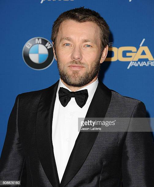 Actor Joel Edgerton attends the 68th annual Directors Guild of America Awards at the Hyatt Regency Century Plaza on February 6 2016 in Los Angeles...