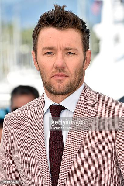 Actor Joel Edgerton attends the 'Loving' photocall during the 69th annual Cannes Film Festival at the Palais des Festivals on May 16 2016 in Cannes...