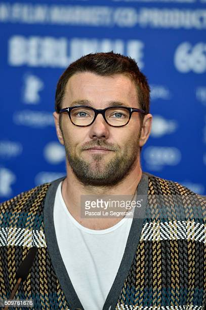 Actor Joel Edgerton attends the 'Midnight Special' press conference during the 66th Berlinale International Film Festival Berlin at Grand Hyatt Hotel...