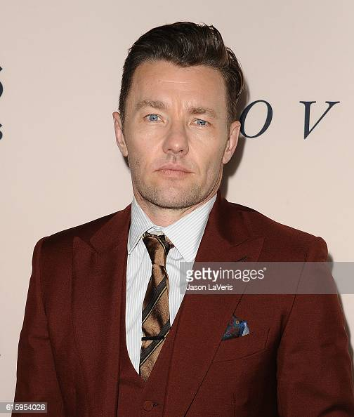 Actor Joel Edgerton attends the premiere of 'Loving' at Samuel Goldwyn Theater on October 20 2016 in Beverly Hills California