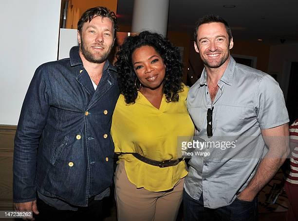 Actor Joel Edgerton Oprah Winfrey and actor Hugh Jackman attended a special screening of Walt Disney Pictures' new film 'The Odd Life of Timothy...