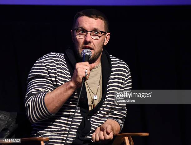 Actor Joel Edgerton speaks during a QA after a screening of 'Black Mass' at the 2015 Telluride Film Festival on September 6 2015 in Telluride Colorado