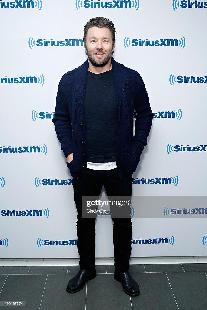 Actor Joel Edgerton visits the SiriusXM Studio on December 8, 2014 in New York City.