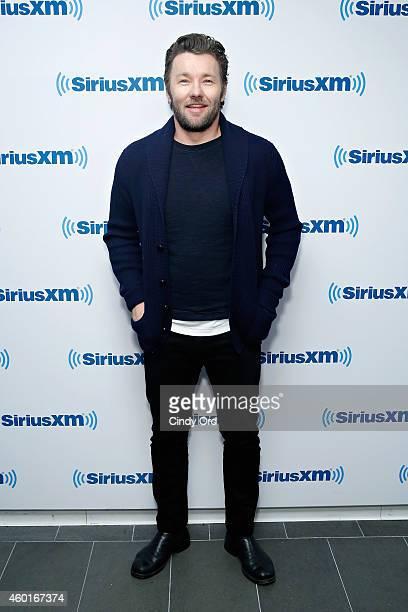Actor Joel Edgerton visits the SiriusXM Studio on December 8 2014 in New York City