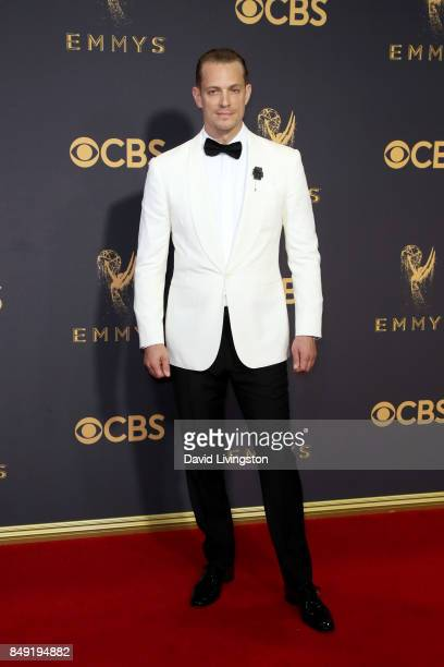 Actor Joel Kinnaman attends the 69th Annual Primetime Emmy Awards Arrivals at Microsoft Theater on September 17 2017 in Los Angeles California