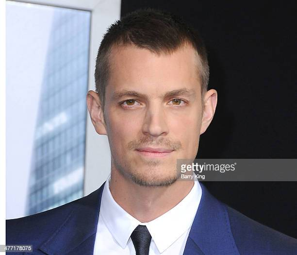 Actor Joel Kinnaman attends the Los Angeles premiere of 'Robocop' on February 10 2014 at TCL Chinese Theatre in Hollywood California