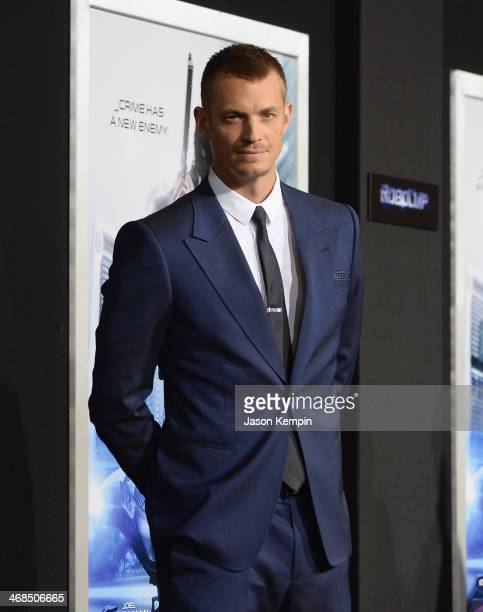 Actor Joel Kinnaman attends the premiere of Columbia Pictures' 'Robocop' on February 10 2014 in Hollywood California