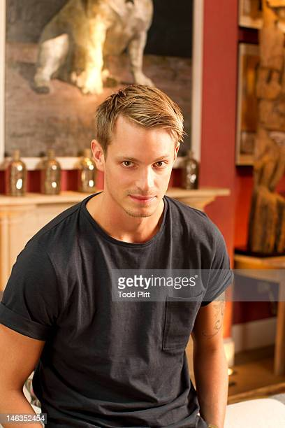 Actor Joel Kinnaman is photographed for USA Today on June 11 2012 in New York City