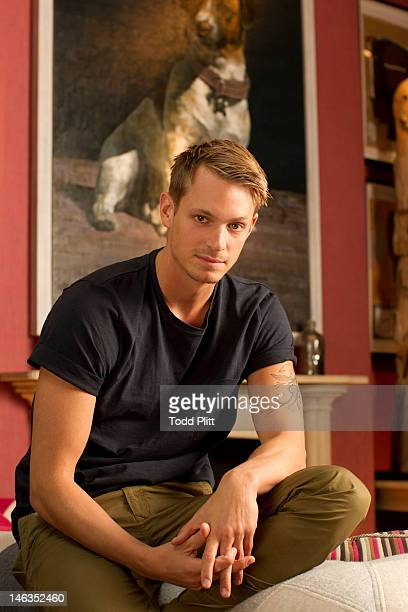 Actor Joel Kinnaman is photographed for USA Today on June 11 2012 in New York City PUBLISHED IMAGE