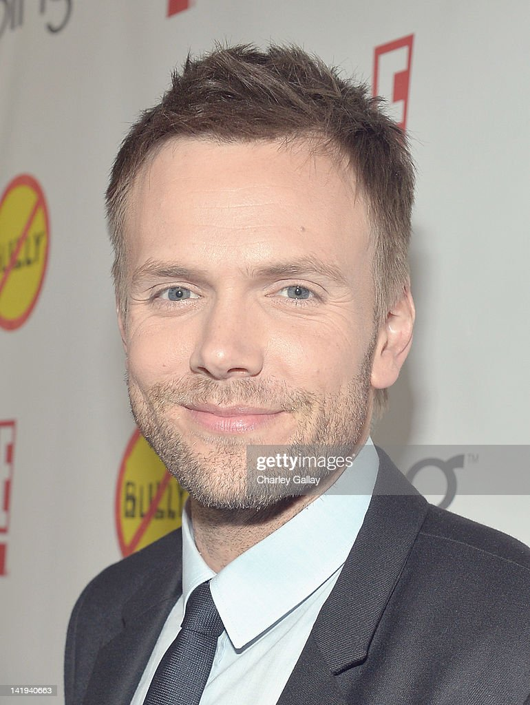 Actor Joel McHale arrives at the Los Angeles Premiere of 'Bully' at Mann Chinese 6 on March 26, 2012 in Los Angeles, California.