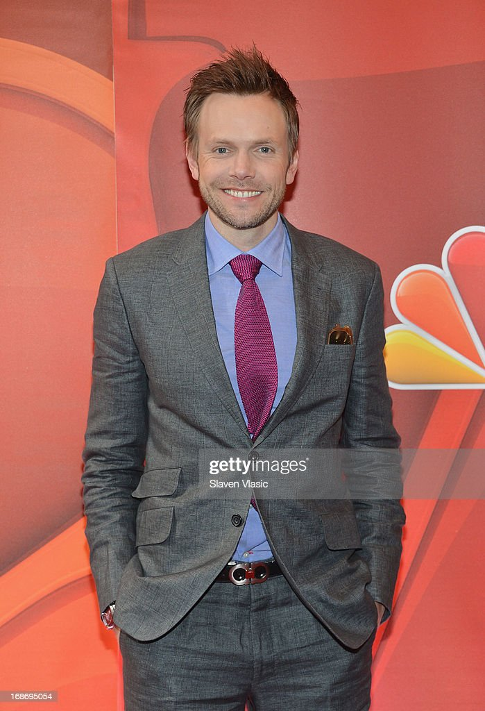 Actor <a gi-track='captionPersonalityLinkClicked' href=/galleries/search?phrase=Joel+McHale&family=editorial&specificpeople=754384 ng-click='$event.stopPropagation()'>Joel McHale</a> attends 2013 NBC Upfront Presentation Red Carpet Event at Radio City Music Hall on May 13, 2013 in New York City.