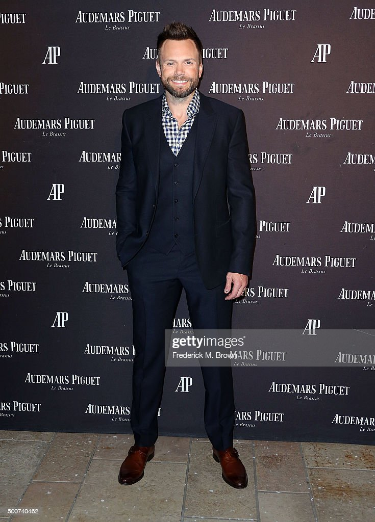Actor Joel McHale attends Audemars Piquet Celebrates Grand Opening of Rodeo Drive Boutique on December 9, 2015 in Beverly Hills, California.