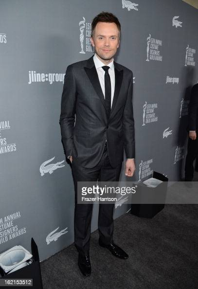 Actor Joel McHale attends the 15th Annual Costume Designers Guild Awards with presenting sponsor Lacoste at The Beverly Hilton Hotel on February 19...