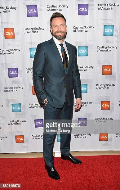 Actor Joel McHale attends the 2017 Annual Artios Awards at The Beverly Hilton Hotel on January 19 2017 in Beverly Hills California