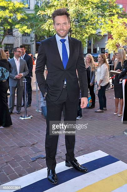 Actor Joel McHale attends the 'Adult Beginners' premiere during the 2014 Toronto International Film Festival at Ryerson Theatre on September 8 2014...