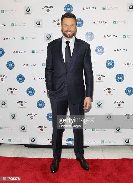 Actor Joel McHale attends the American Ireland Fund St Patrick's celebration at Espace on March 10 2016 in New York City