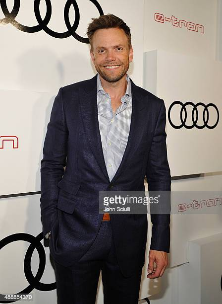Actor Joel McHale attends the Audi Celebrates Emmys Week 2015 at Cecconi's Restaurant on September 17 2015 in Los Angeles California