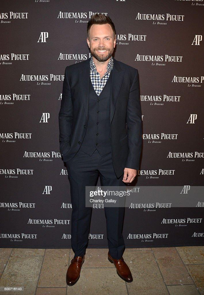 Actor Joel McHale attends the Opening of Audemars Piguet Rodeo Drive at Audemars Piguet on December 9 2015 in Beverly Hills California